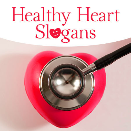 healthy heart slogans