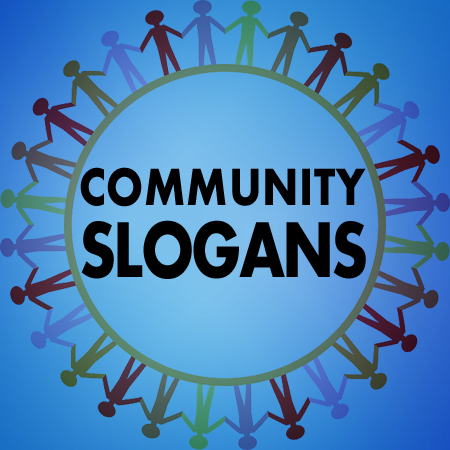 community slogans