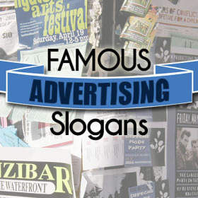 famous advertising slogans