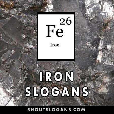Iron slogans