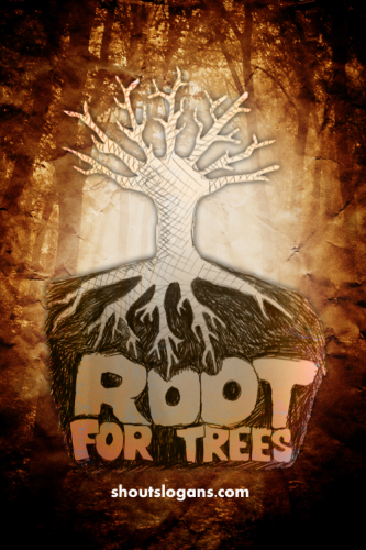 save-trees-poster-slogan